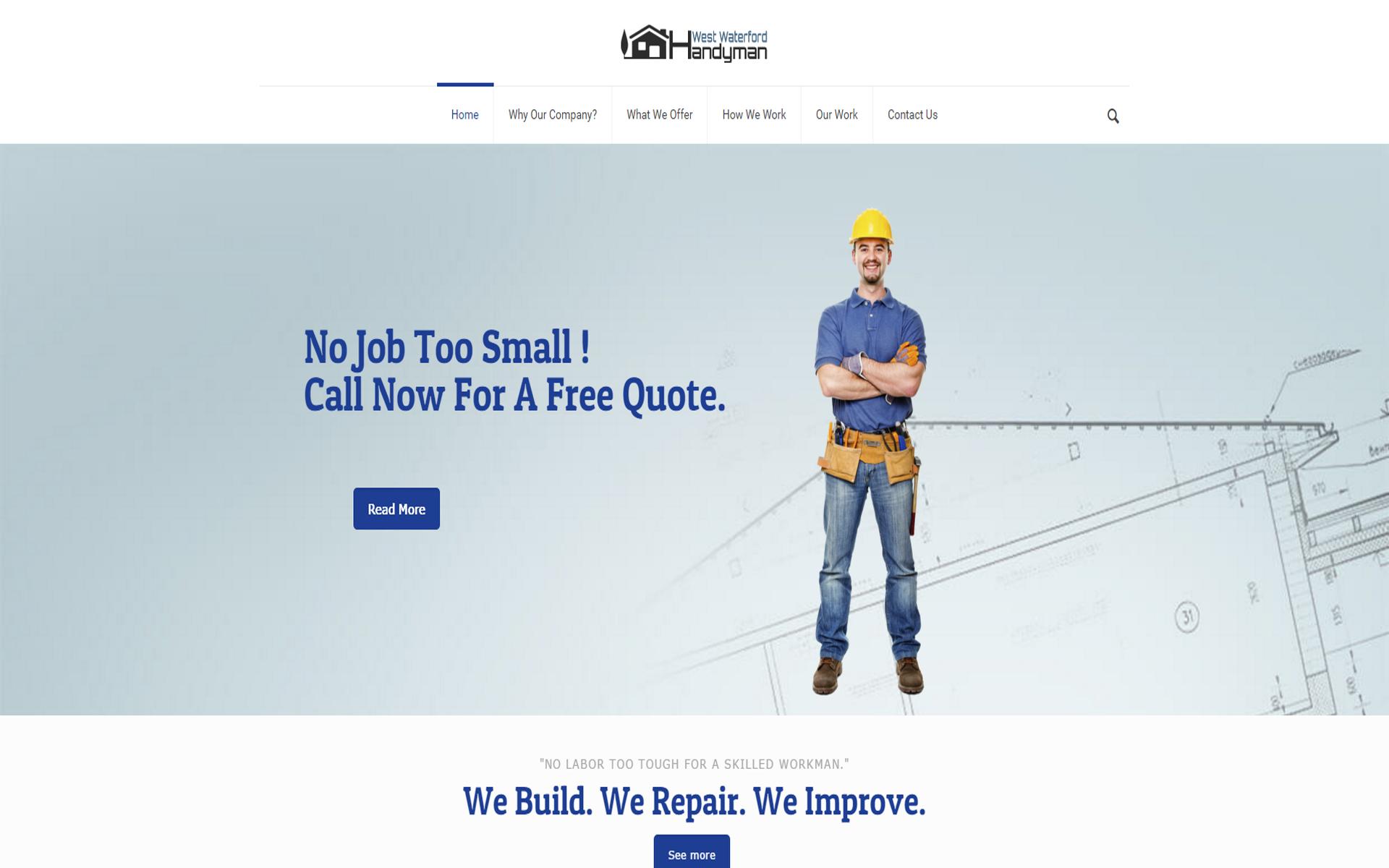 West Waterford Handyman Web Design Twapp Media