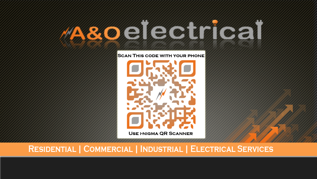 Business card design electrical company gallery card design and graphic and logo design by twapp media based in waterford aoelectrical business card design for electrical colourmoves Images